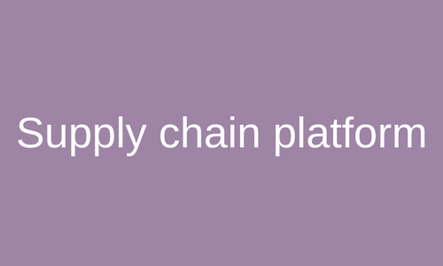 Supply Chain Portaal